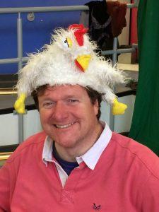 Chicken hat?!