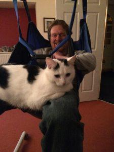 hoisting-cat