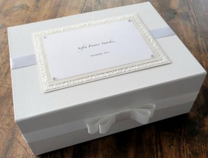 Child's Ivory Keepsake Box