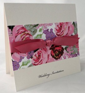 Bespoke Wedding Invitation 11
