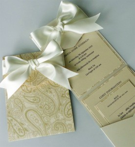 Bespoke Wedding Invitation 12