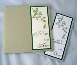 Bespoke Wedding Invitation 16