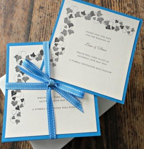 Bespoke Wedding Invitation 19