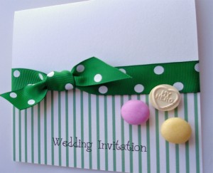 Bespoke Wedding Invitation 8