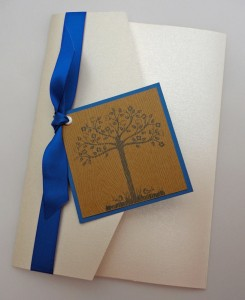 Bespoke Wedding Invitation 9