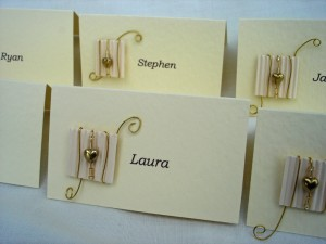 Bespoke Place Cards 1