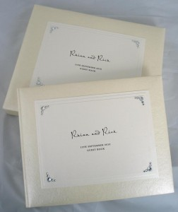 Hollywood Ivory Guest Book