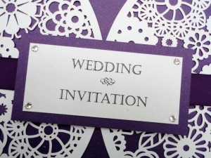 Lauren Invitation Detail