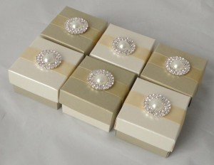 Meredith Favour Boxes Gold & Ivory