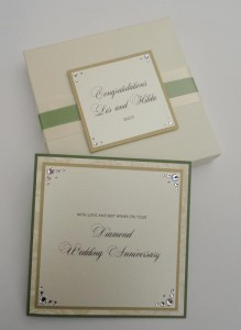 Perry Anniversary Card (Green)