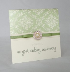 Meadow Anniversary Card