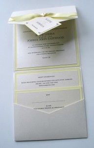 Rialto Invitation Lemon Yellow