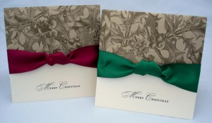 Holly Berry Christmas Cards