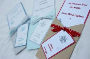 Gift Voucher Pocket Christmas Cards