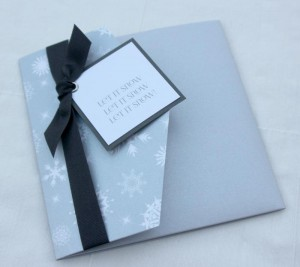Snowflake Gift Voucher Pocket