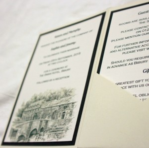 Venue Invitation Insert