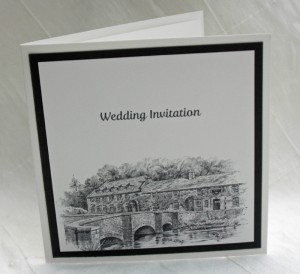 Venue Invitation Folded Card