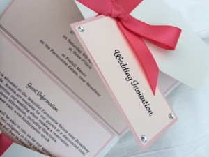 Victoria Invitation in Red