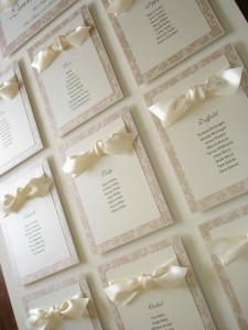 Warwick Ivory Lace Table Plan
